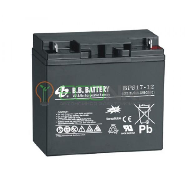 Аккумуляторная батарея B.B.Battery BPS 17-12