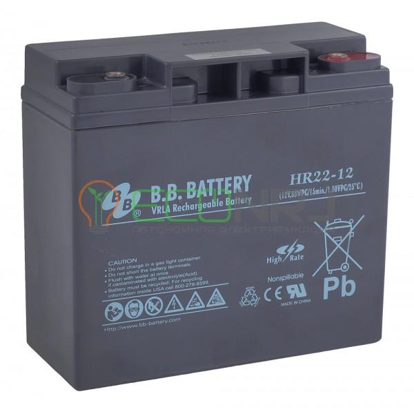Аккумуляторная батарея B.B.Battery HR 22-12