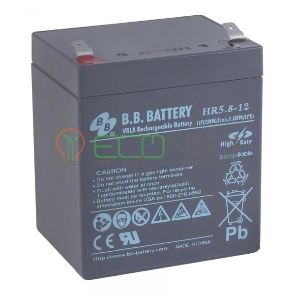 Аккумуляторная батарея B.B.BatteryHR 5.8-12
