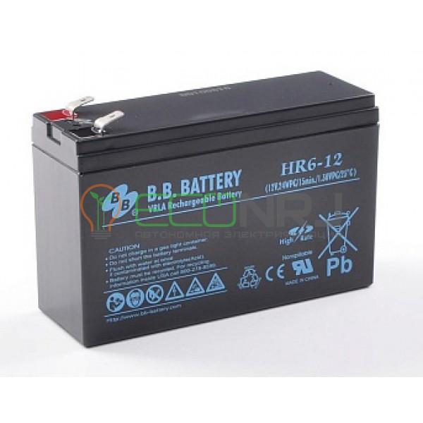 Аккумуляторная батарея B.B.Battery HR 6-12