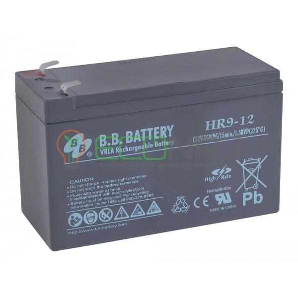 Аккумуляторная батарея B.B.Battery HR 9-12