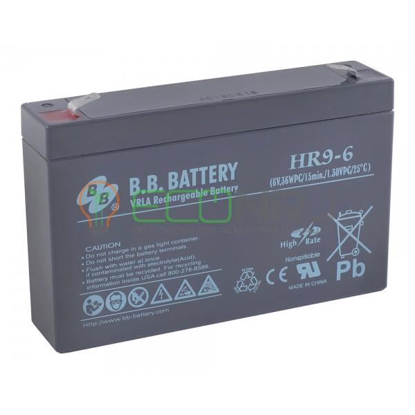 Аккумуляторная батарея B.B.Battery HR 9-6