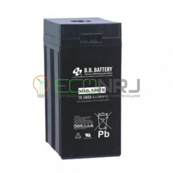 Аккумуляторная батарея B.B.Battery MSB 500-2FR