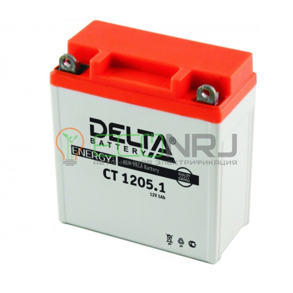 Аккумуляторная батарея Delta CT 1205.1 (Мото АКБ)
