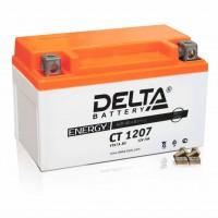 Аккумуляторная батарея Delta CT 1207 (Мото АКБ)