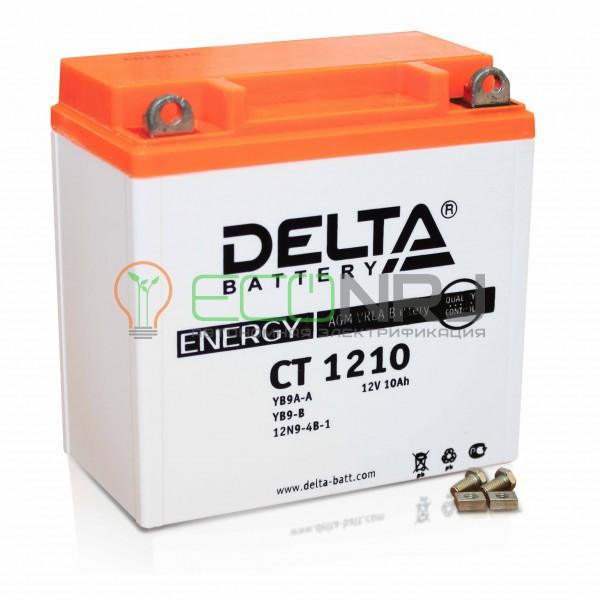 Аккумуляторная батарея Delta CT 1210 (Мото АКБ)