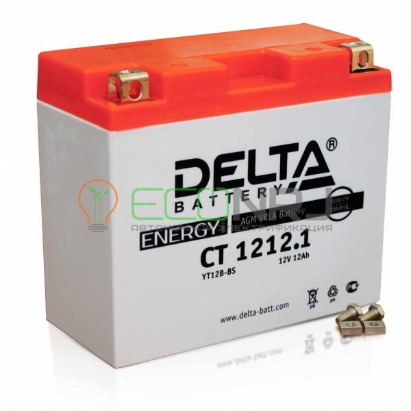 Аккумуляторная батарея Delta CT 1212.1 (Мото АКБ)