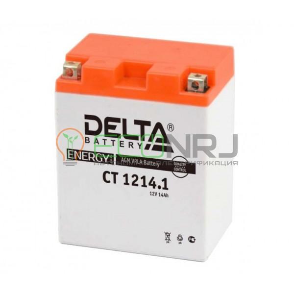 Аккумуляторная батарея Delta CT 1214.1 (Мото АКБ)