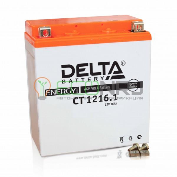 Аккумуляторная батарея Delta CT 1216.1 (Мото АКБ)