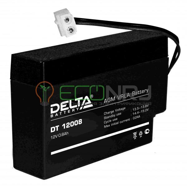 Аккумуляторная батарея Delta DT 12008