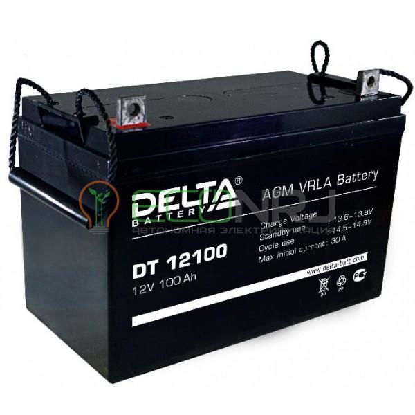 Аккумуляторная батарея Delta DT 12100