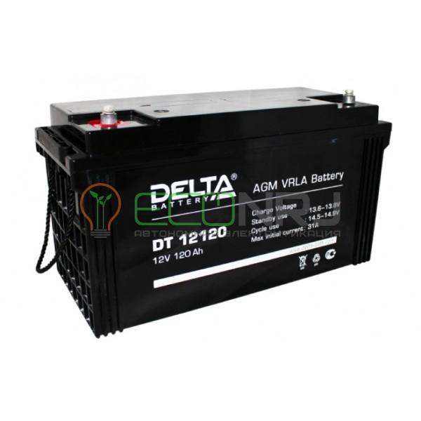 Аккумуляторная батарея Delta DT 12120
