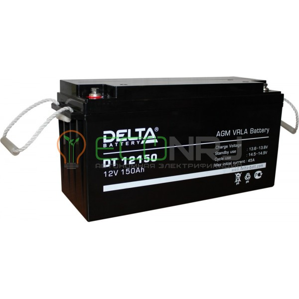 Аккумуляторная батарея Delta DT 12150