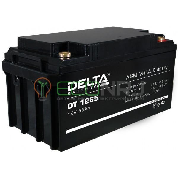 Аккумуляторная батарея Delta DT 1265