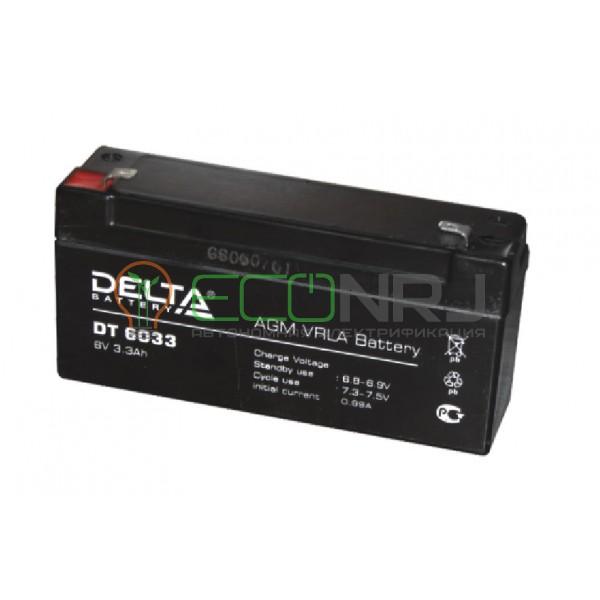 Аккумуляторная батарея Delta DT 6033(125)