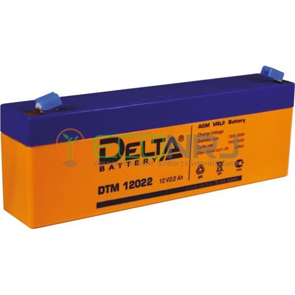 Аккумуляторная батарея Delta DTM 12022