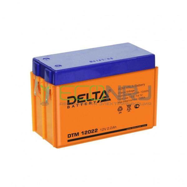 Аккумуляторная батарея Delta DTM 12022 (103)