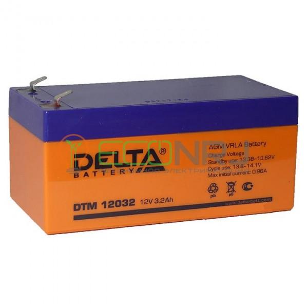 Аккумуляторная батарея Delta DTM 12032