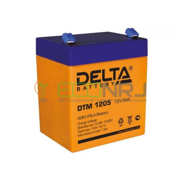 Аккумуляторная батарея Delta DTM 1205
