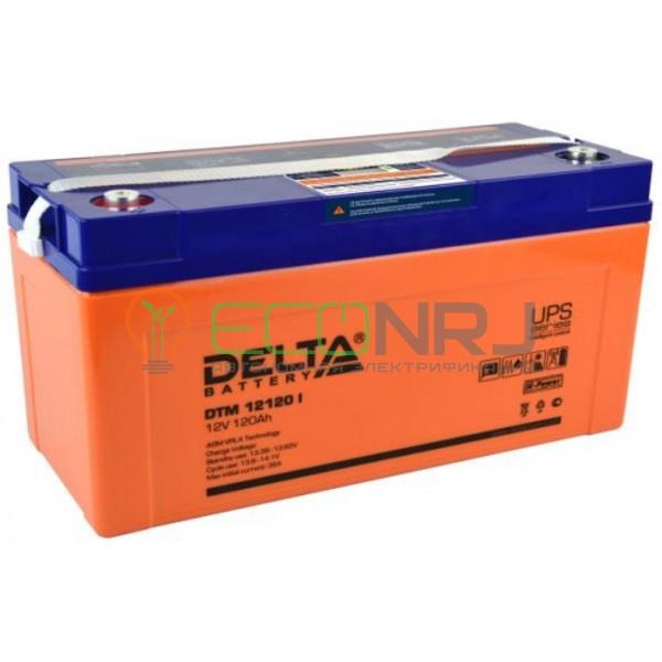 Аккумуляторная батарея Delta DTM 12120 I