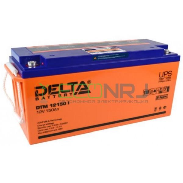 Аккумуляторная батарея Delta DTM 12150 I