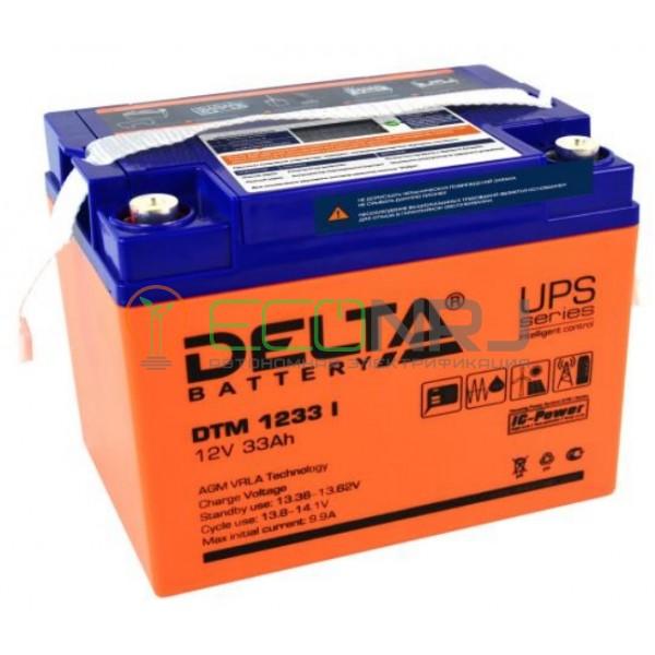 Аккумуляторная батарея Delta DTM 1233 I