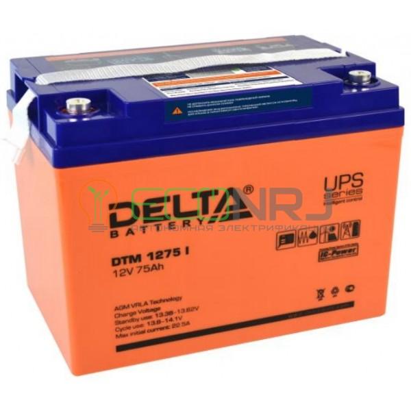 Аккумуляторная батарея Delta DTM 1275 I