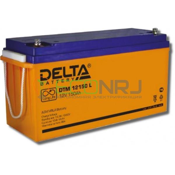Аккумуляторная батарея Delta DTM 12150 L