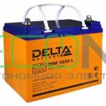 Инвертор (ИБП) Stark Country 1000 Online, 12А + АКБ Delta DTM 1233 L