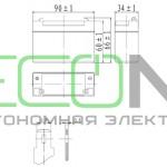 Аккумуляторная батарея Delta DT 4035