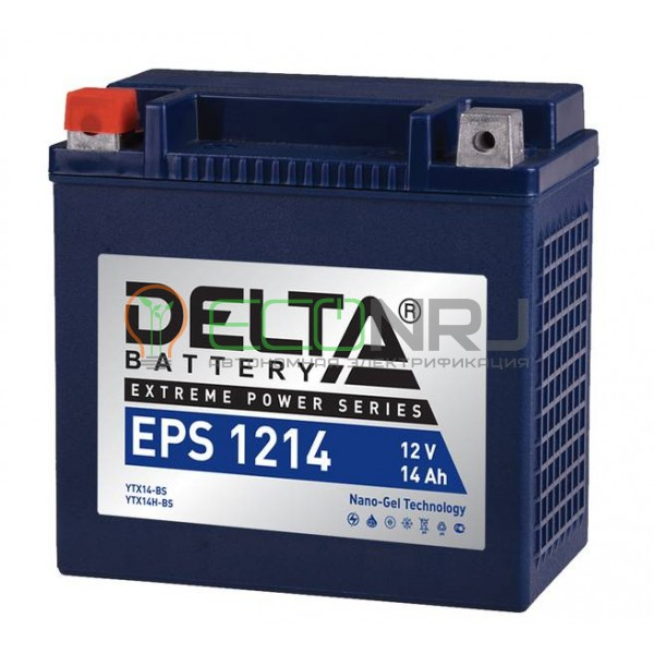 Аккумуляторная батарея Delta EPS 1214 (Мото АКБ)