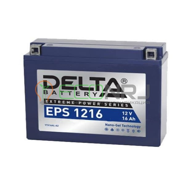 Аккумуляторная батарея Delta EPS 1216 (Мото АКБ)