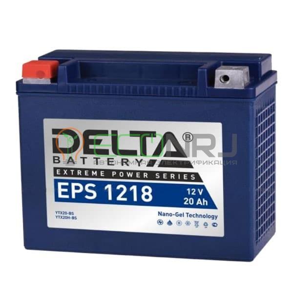 Аккумуляторная батарея Delta EPS 1218 (Мото АКБ)