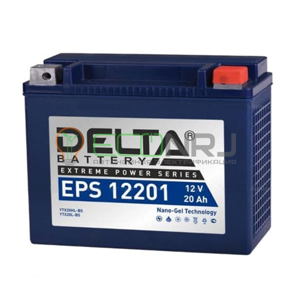 Аккумуляторная батарея Delta EPS 12201 (Мото АКБ)