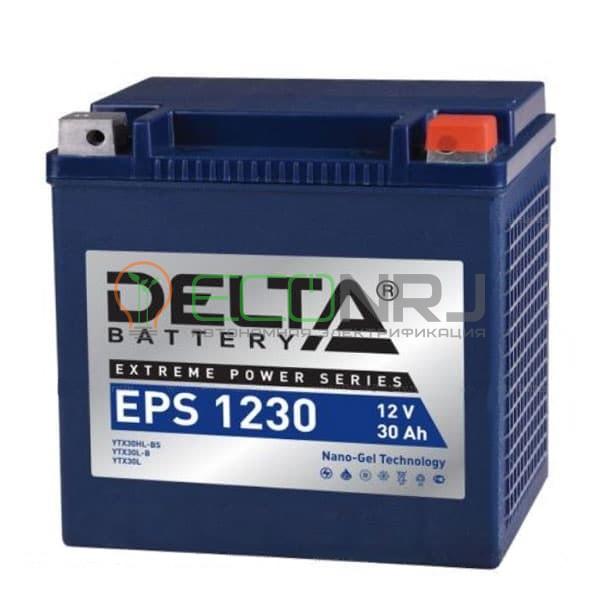 Аккумуляторная батарея Delta EPS 1230 (Мото АКБ)