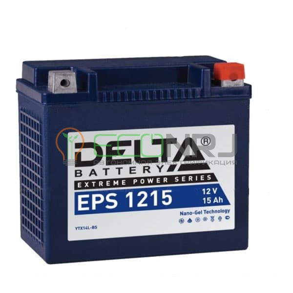 Аккумуляторная батарея Delta EPS 1215 (Мото АКБ)
