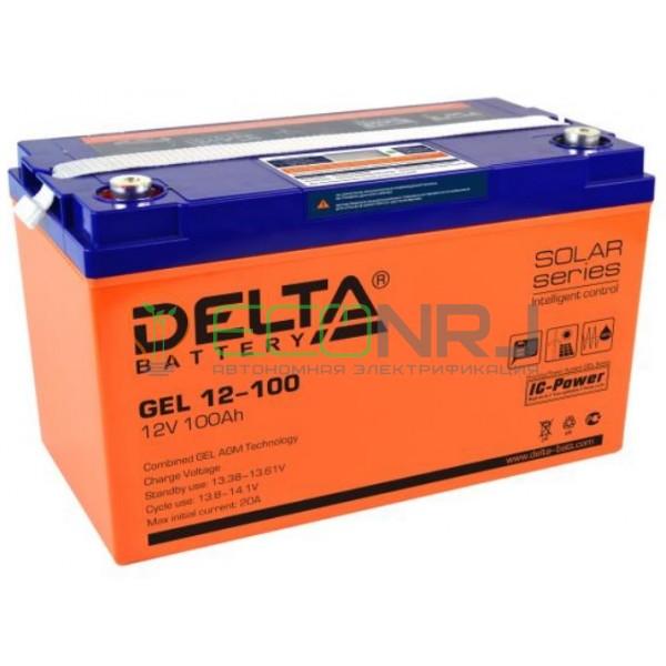Аккумуляторная батарея Delta GEL 12-100