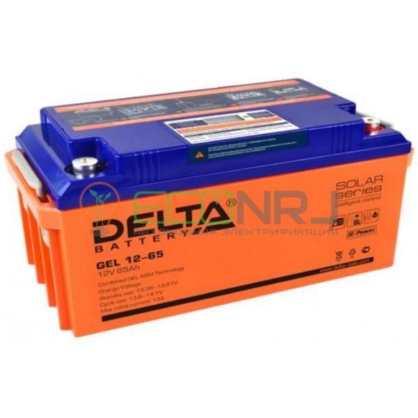 Аккумуляторная батарея Delta GEL 12-65