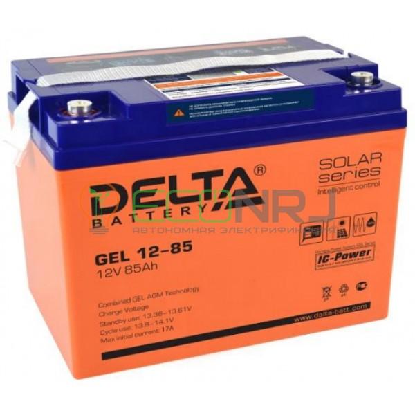 Аккумуляторная батарея Delta GEL 12-85