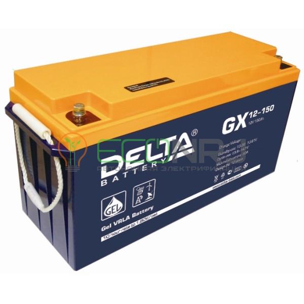 Аккумуляторная батарея Delta GX 12-150