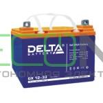 Инвертор (ИБП) Stark Country 3000 Online, 12А + АКБ Delta GX 12-33