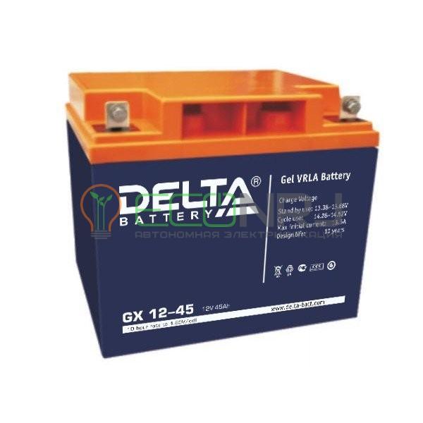Аккумуляторная батарея Delta GX 12-45