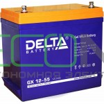 Инвертор (ИБП) Энергия PRO-1700 + Аккумуляторная батарея Delta GX 12-55
