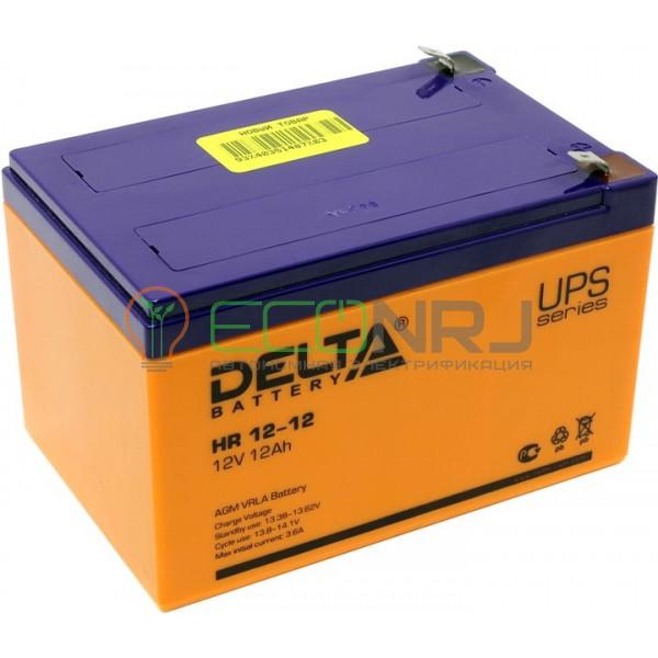 Аккумуляторная батарея Delta HR 12-12