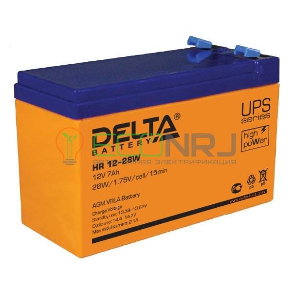 Аккумуляторная батарея Delta HR 12-28 W