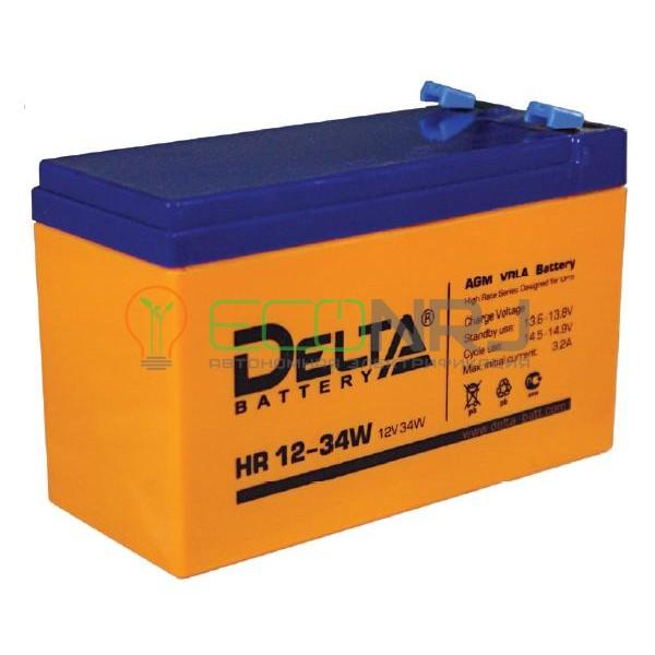 Аккумуляторная батарея Delta HR 12-34 W