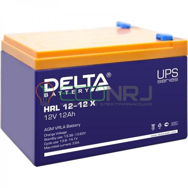 Аккумуляторная батарея Delta HRL 12-12 X