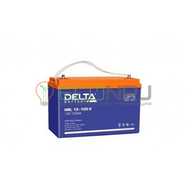 Аккумуляторная батарея Delta HRL 12-100 X