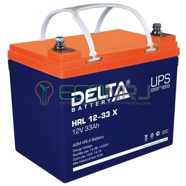 Аккумуляторная батарея Delta HRL 12-33 X