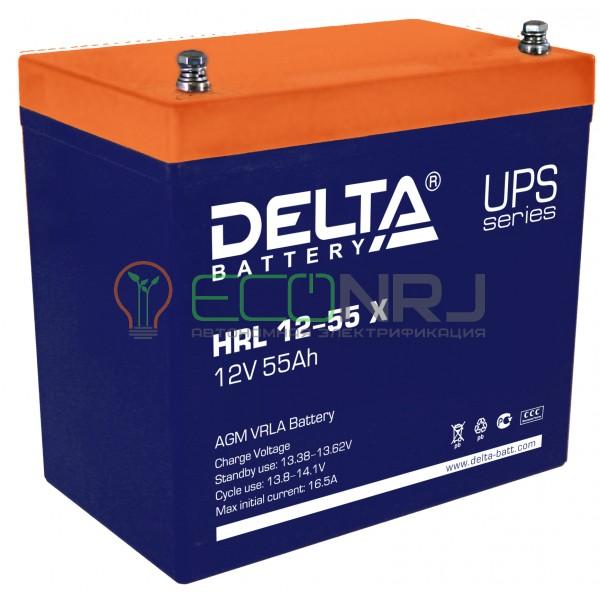 Аккумуляторная батарея Delta HRL 12-55 X